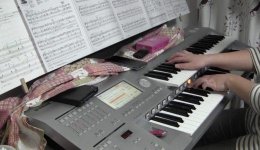 ヒカリノアトリエ NHK朝ドラ「べっぴんさん」より エレクトーンで弾いてみました